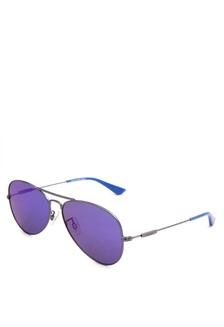0882741df1f MGun Full Rim Metal Frame Aviator Sunglasses   LV91082C2PS58    LE892GL20JFRPH 1