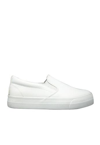 Twenty Eight Shoes 白色 白色輕便鞋 6831 TW446SH71FUAHK_1