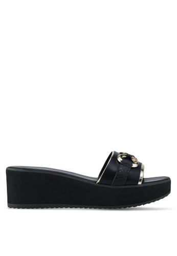 ALDO black Canolo Beach Sandals 1849FSHEEFDACFGS_1