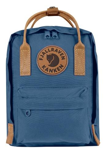 Fjallraven Kanken blue Blue Ridge Kanken No.2 Mini Backpack 615C6ACF89A448GS_1
