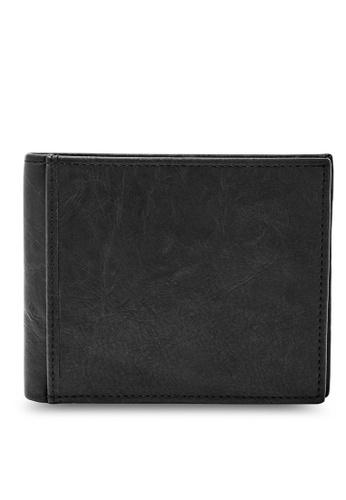 Fossil black Fossil Coin Bifold Wallet ML3781001 FO313AC98IMFSG_1