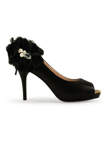 Gripz black Joyous Open Toe Heels GR357SH14BDDSG_1