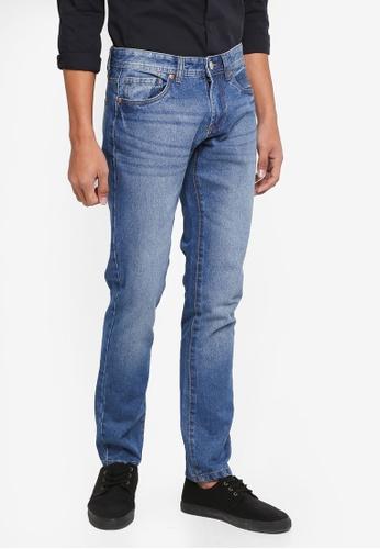 OVS 藍色 修身牛仔褲 4153CAAD8FC2A8GS_1