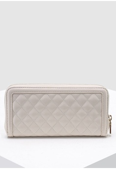 262e9d802b9e Love Moschino Quilted Zip Around Wallet S$ 179.00. Sizes One Size