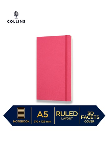 Collins purple Collins Clementine - Notebook A5 Slim Ruled-Pink 51506HLC93860CGS_1