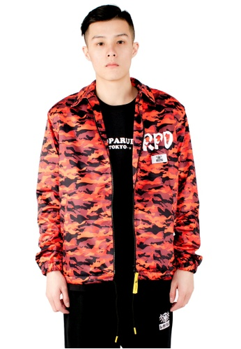 Reoparudo red and multi RPD Year Camo Coach Jacket (Limited Edition) B2709AA4306606GS_1