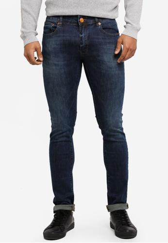 Electro Denim Lab 藍色 Indie Skinny Jeans 6494DAA6B78ADFGS_1