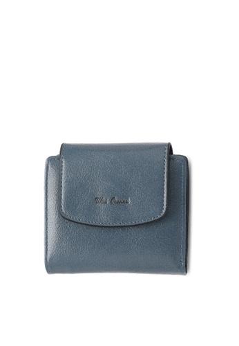 Wild Channel blue Faux Leather Purse 39BBDAC66052DAGS_1