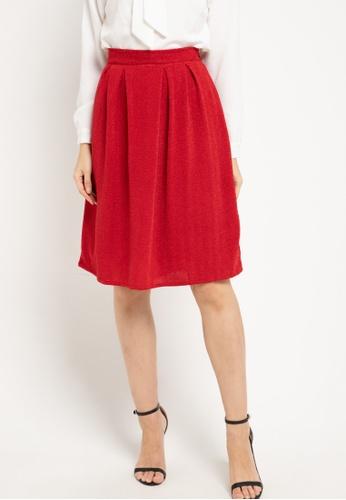 CHANIRA LA PAREZZA red Hafza Skirt BFE3EAAA390F60GS_1