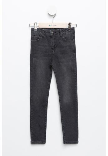DeFacto grey Girl Denim Trouser D7C0AKA064CE08GS_1