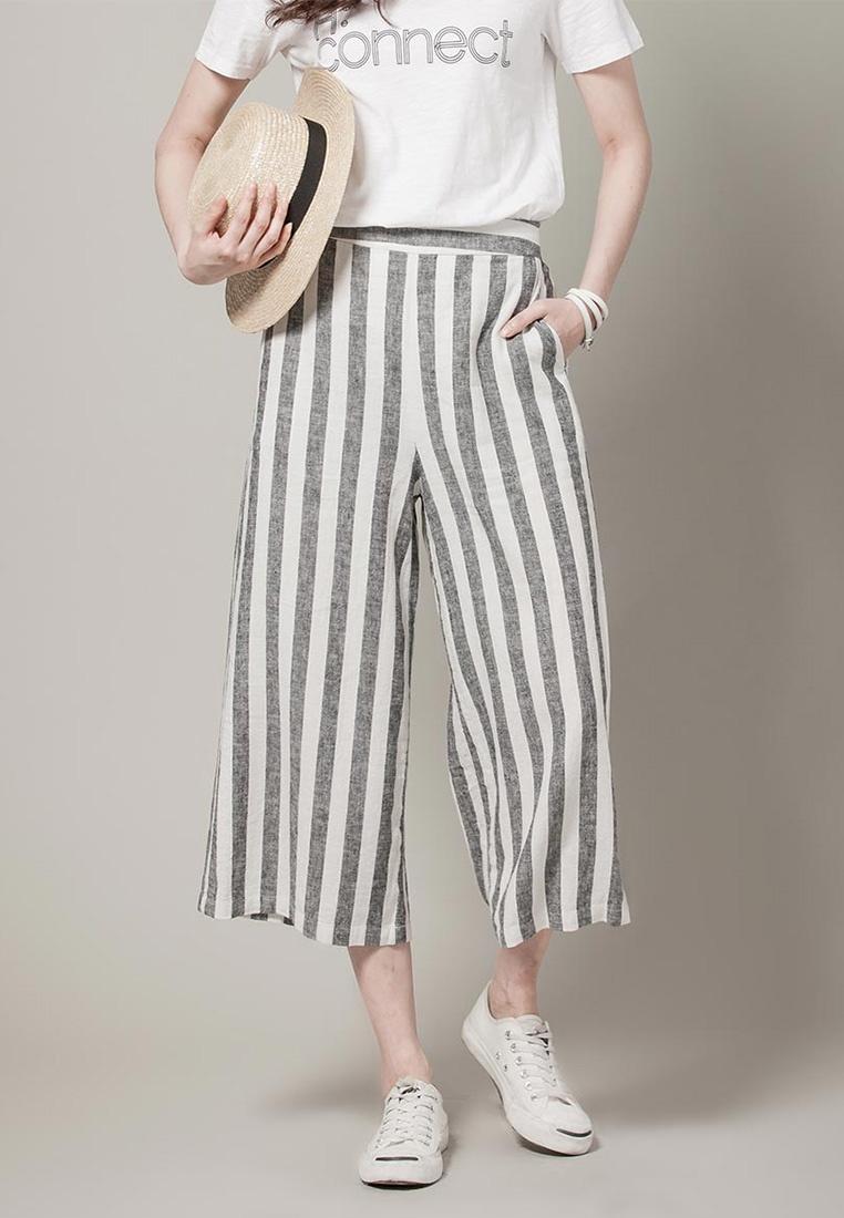 Black H Cotton CONNECT Pants 3 Flair 4 1IYqrIw