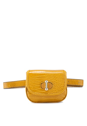 TOPSHOP yellow Delilah Belt Bag 7B0E0AC5D6FC80GS_1