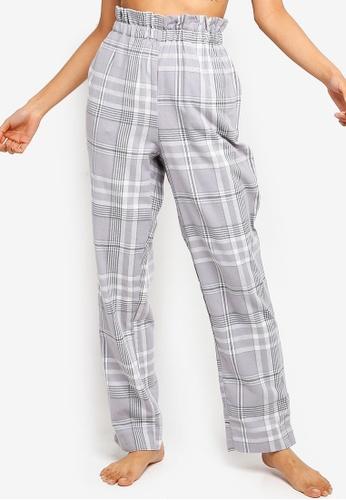 a68ef8f4b1 Buy Cotton On Body Flannel Paper Bag Pants Online on ZALORA Singapore
