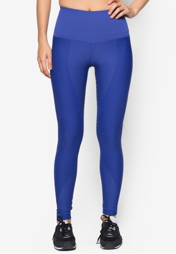 Nike black and blue Nike Zoned Sculpt Tights NI126AA51WLGMY_1