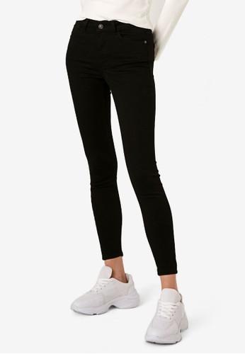 LC Waikiki black Ankle Length Skinny Jeans 0D04FAADF0CE43GS_1