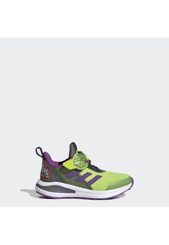 ADIDAS green adidas FortaRun Super Hero Shoes 817D9KS5705363GS_1