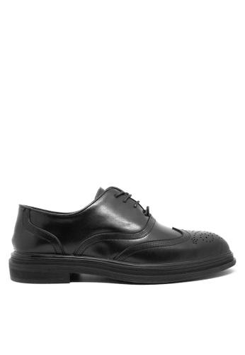 Twenty Eight Shoes black Leather Classic Oxford MC19 ED670SH7785B4CGS_1
