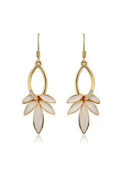Zephyr 18K Gold Plated Dangling Earrings