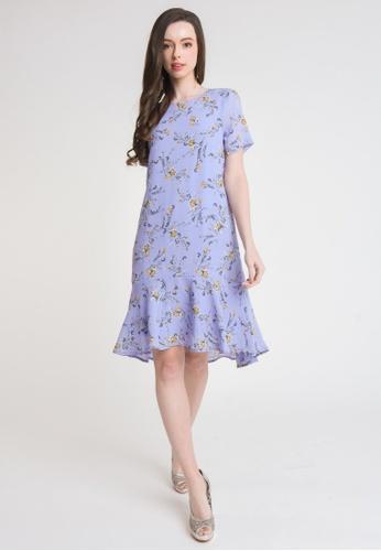 L'zzie blue LZZIE DESTINY DRESS - LIGHT BLUE BF3F5AA6FDD508GS_1