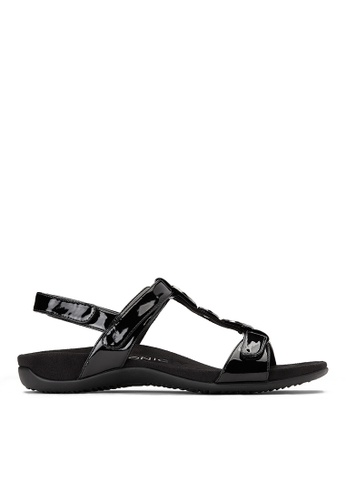 Vionic black Farra Backstrap Sandal 8BA0CSH046B248GS_1