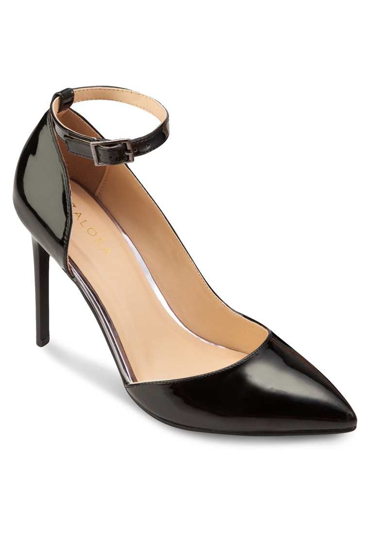 Ankle Strap Heel Pumps