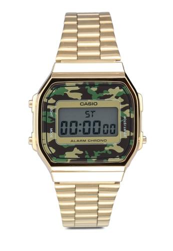 Casio gold Casio A168WEGC-3DF Watch B5B87AC3F59CC6GS_1