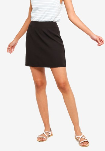 ZALORA BASICS black Basic Mini Skirt AA1E2AAC2B02B0GS_1