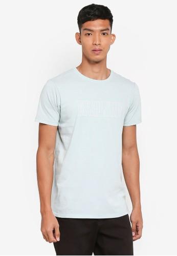 Cotton On blue Longline Scoop Hem Tee 6ED8CAAE229139GS_1