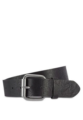 River Island black Black Basic Belt RI009AC04KPBMY_1