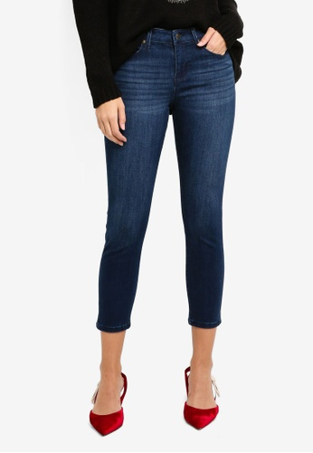 Guess blue Guess Leida Cropped Skinny Jeans 276ACAA7FCB161GS_1