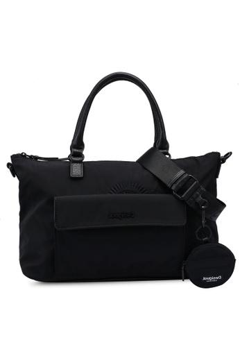 Desigual black Mandalas Handbag 9357BACB50D280GS_1