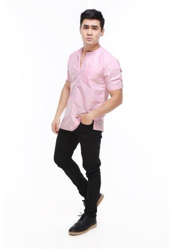 Amar Amran pink Kurta Al Imran A0CF0AA7AF1CF6GS_1