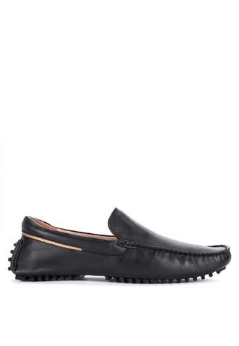 Alberto black Genuine Leather Loafers 089A0SH6D9936FGS_1