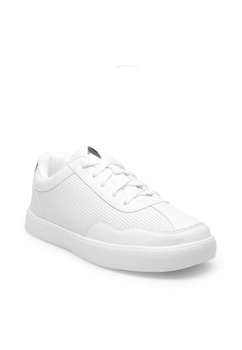 ONE UP white Grayson Big Kid's Sneakers 6CB6EKSF29D3F6GS_1