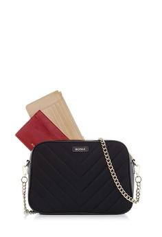 de6e9c06ac6b BONIA black Black Massima Crossbody Bag S 3D935ACD6CDE04GS 1
