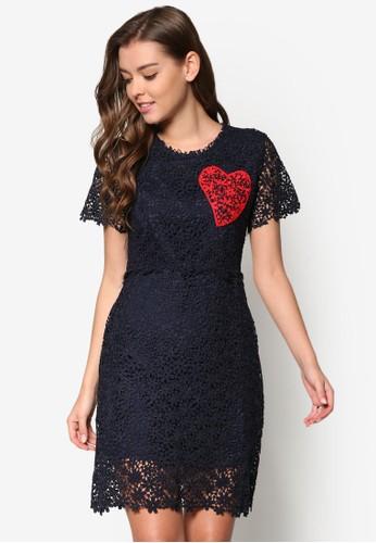 Daisy&#0esprit女裝39;s 愛心蕾絲連身裙, 服飾, 夏日洋裝