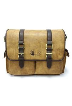 Vinta 370 Vintage Dslr Messenger Travel Camera Bag