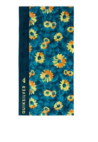 Quiksilver blue Freshness Beach Towel E3A16AC0D16665GS_1