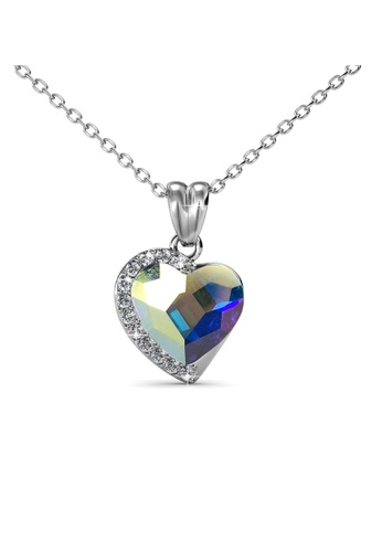 Her Jewellery multi Her Jewellery Fond Love Pendant (AB Rainbow) with Necklace Chain with 18K Gold Plated HE210AC0GIFYSG_1