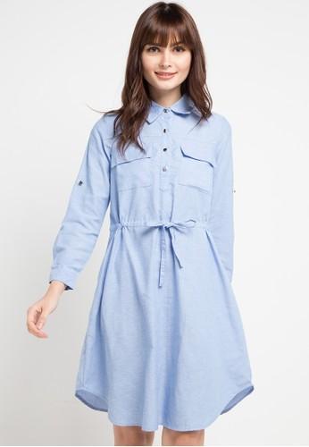 Le'Rosetz blue Bay Blue Tunic Dress 49C54AA2D9735CGS_1