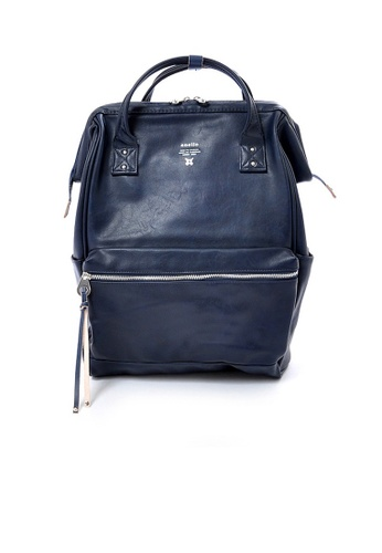 Anello navy anello Large Premium PU backpack 81E68AC7B73CD9GS_1