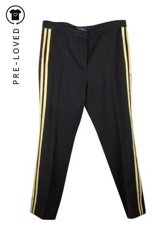 Lanvin black Pre-Loved lanvin High Waist Pants B2007AACEA5A68GS_1