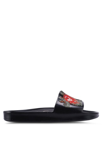 Melissa 多色 Melissa Beach Slide Flower Ad Sandals D4910SH468E66AGS_1