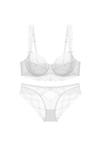 Glorify 白色 Premium White Lace Lingerie Set F3DE6US4A4DF13GS_1