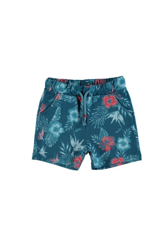 LC Waikiki green Baby Boy's Printed Cotton Shorts 86970KA341A821GS_1