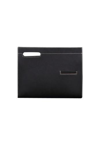 Lara black Men's Hand Bag With A Strap C8BBCAC6A4FBBDGS_1