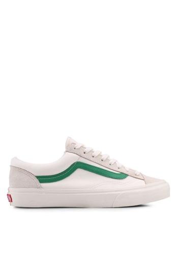 VANS white Style 36 Suede Sneakers VA142SH0SWT6MY_1