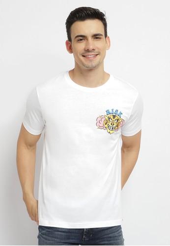 Poshboy white Poshboy Risk Taker T-Shirt White 00B03AAE2D305DGS_1