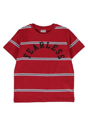 LC Waikiki red Striped Crew Neck T-Shirt 2D192KA13FC890GS_1