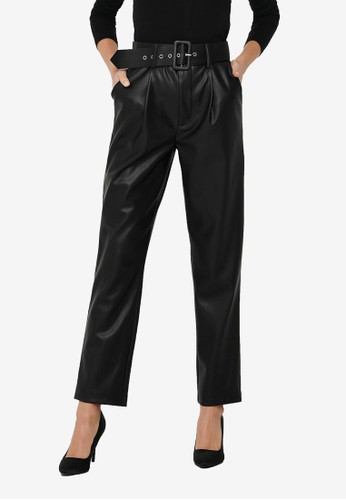 ONLY black Nanny High Waist Pants DE115AA347C94AGS_1